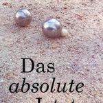 """Titelseite """"Das absolute Jetzt"""""""